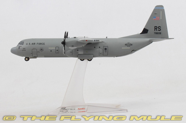 Herpa Wings 1:200 Lockheed c-130 US Air Force 37th airllift Squadron 559461