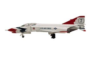 F-4E Phantom II Diecast Model, USAF Thunderbirds, #7 - OCT RE-STOCK