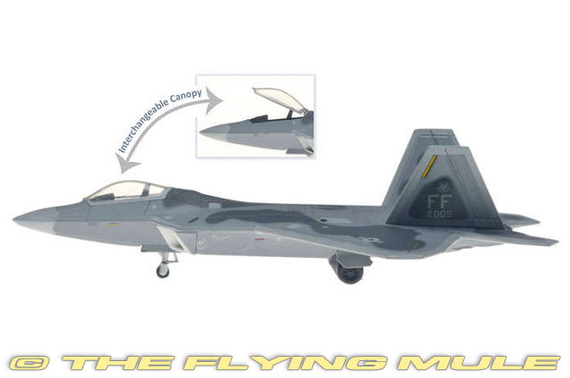 1 200 F-22A Raptor   91-0005 United States Air Force 1st FW, 27th FS BAT  Eagles  qualité authentique