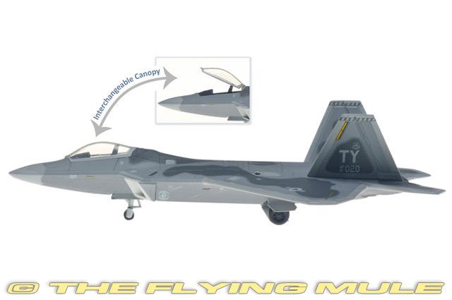1:200 F-22A Raptor  01-4020 USAF 325th FW, 43rd FS Hornets