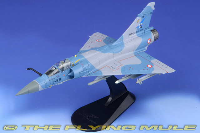 Mirage 2000-5F 1:72 Diecast Model - Hobby Master HM-HA1614