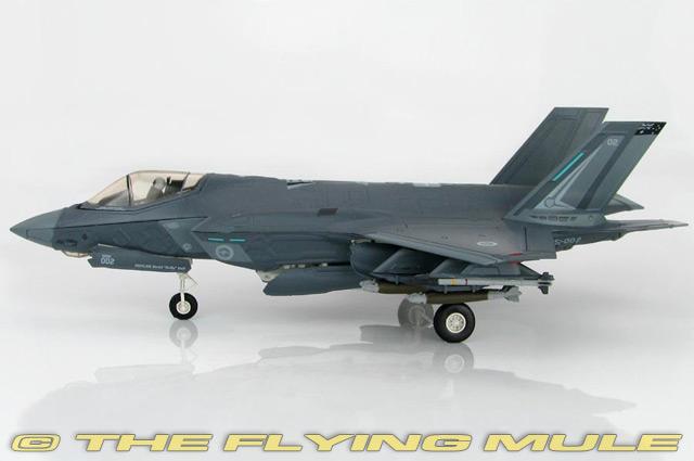 F-35A Lightning II JSF 1:72 Diecast Model - Hobby Master HM