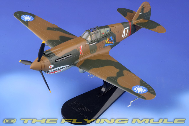 P-40B Warhawk 1:48 Diecast Model - Hobby Master HM-HA9203
