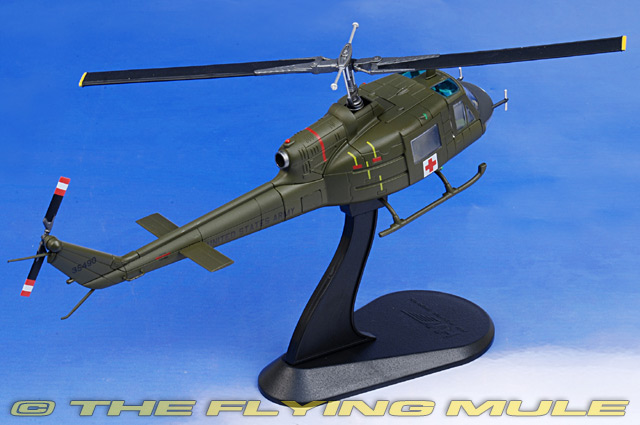 """Huey Helicopter For Sale >> Hobby Master HH1007 - UH-1 Huey Diecast Model, US Army 57th Medical Det, """"Dust Off 90"""", Vietnam"""