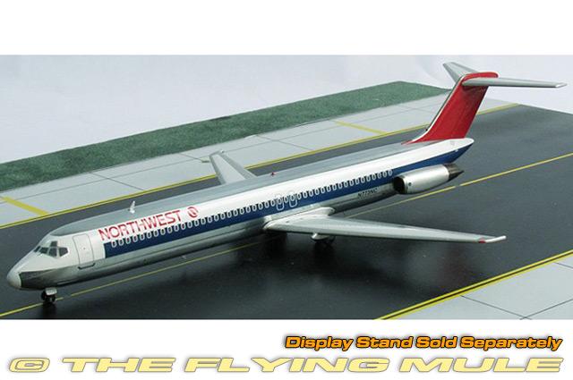 1:200 Inflight DC-9 Metal Display Stand