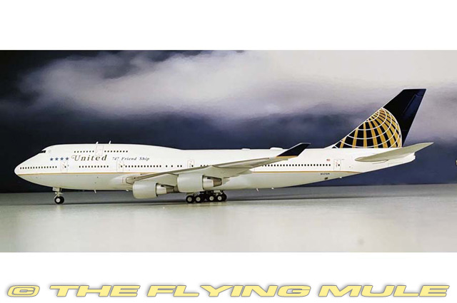 1 200 JC Wings 747-400 United Airlines