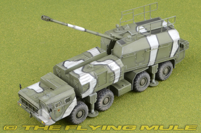 Modelcollect AS72115 Russian A222 130MM Coastal Defense Gun Bereg in 1:72