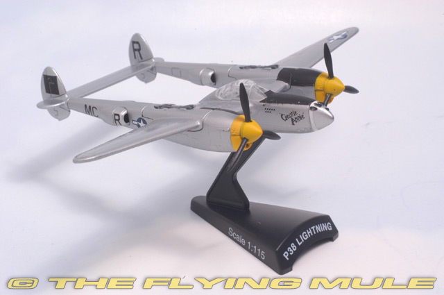 PS5362-3 Postage Stamp Planes P-38L Lightning 1//115 Model Marge USAAF 49th FG