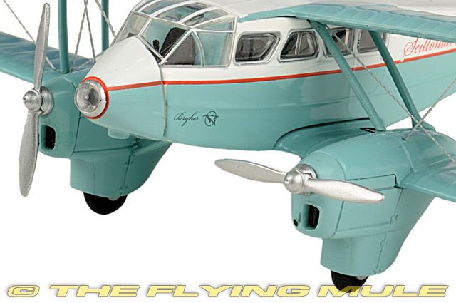 Details about  /Oxford Diecast 1//72 Dragon Rapide Airplane G-AHAG Scillonia Airways