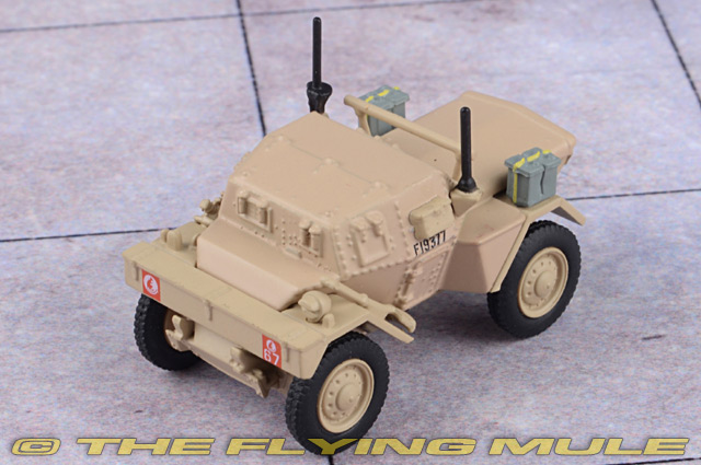 Oxford Diecast 1:76 Scale Dingo Scout Car 8th Kings Royal Irish Hussars