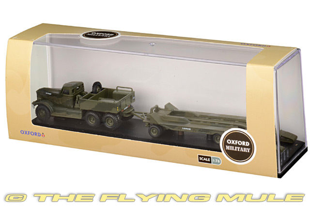 76DT001 Oxford Diecast T980 Tank Transporter 1//76 Model British Army Middle