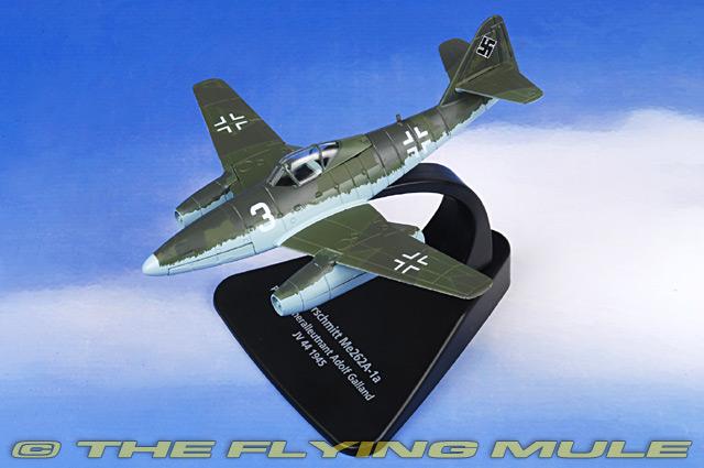 Oxford Diecast AC007 - Me 262 Diecast Model, Luftwaffe JV 44