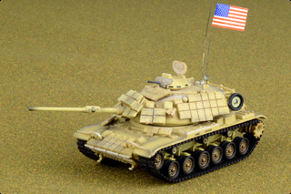 M60A1 Patton Diecast Model, USMC, American Express, Iraq, Operation Desert