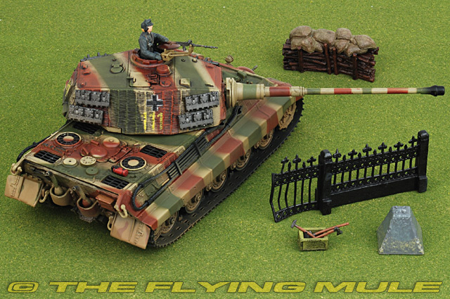 Unimax 80601 Sd Kfz 182 King Tiger Diecast Model German