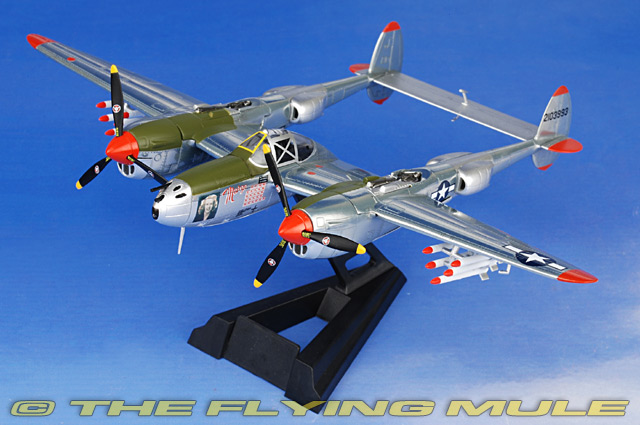 Witty WTW72020-08A - P-38 Lightning Diecast Model USAAF 49th FG #42-103993  Marge  Richard Bong : p38 lighting - azcodes.com